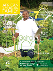 African American Family Magazine Aug 2009