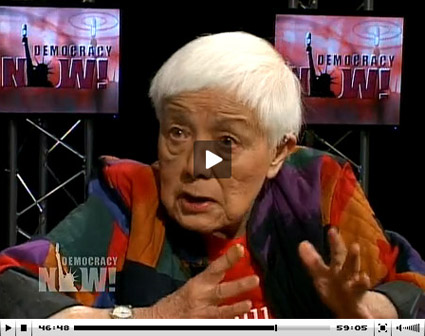 Grace Lee Boggs on Democracy Now. part 2