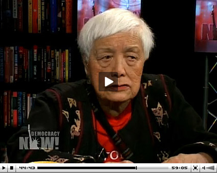 Grace Lee Boggs on Democracy Now!