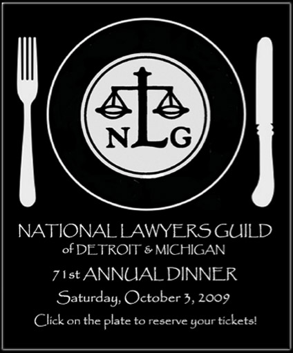 National Lawyers Guild Awards Dinner