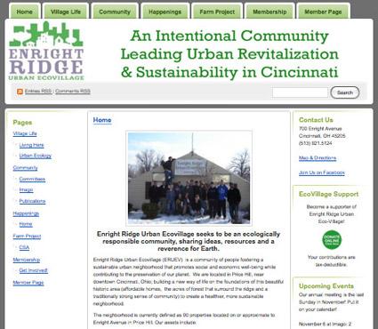 Enright Ridge Urban Ecovillage