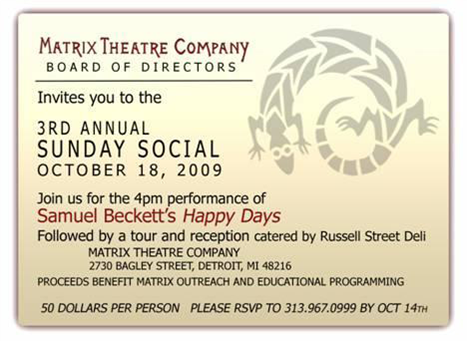 Matrix Theater Fundraiser