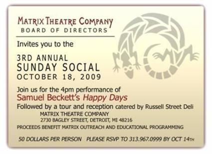 Matrix Theater Fundraiser